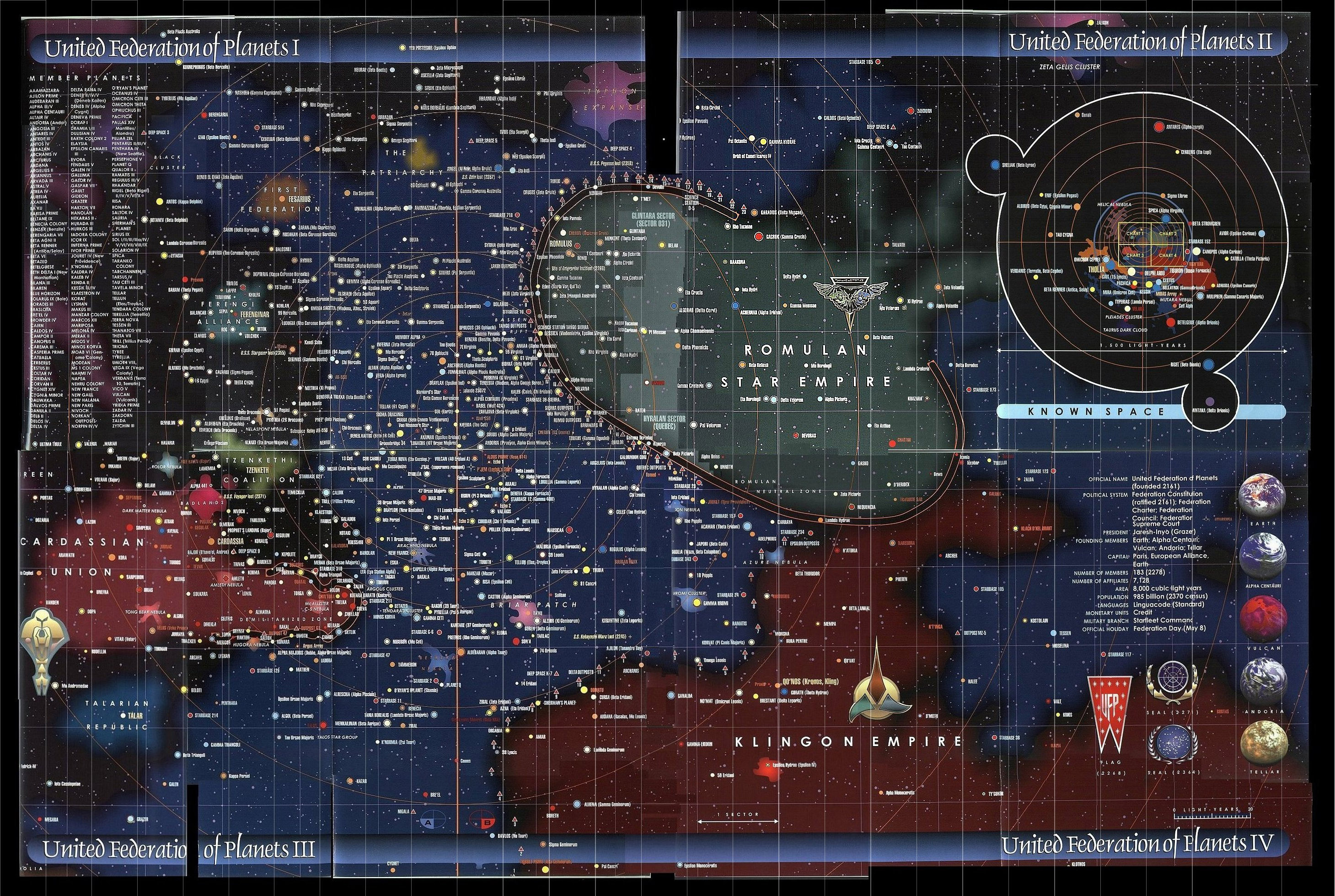 Star trek map chartgeek com