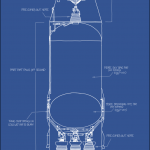 Saturn V Rocket Blueprint